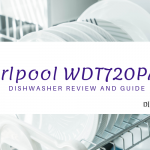 clean plates washed from Whirlpool WDT720PADM dishwasher