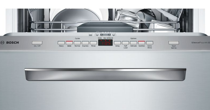 bosch 500 series dishwasher controls