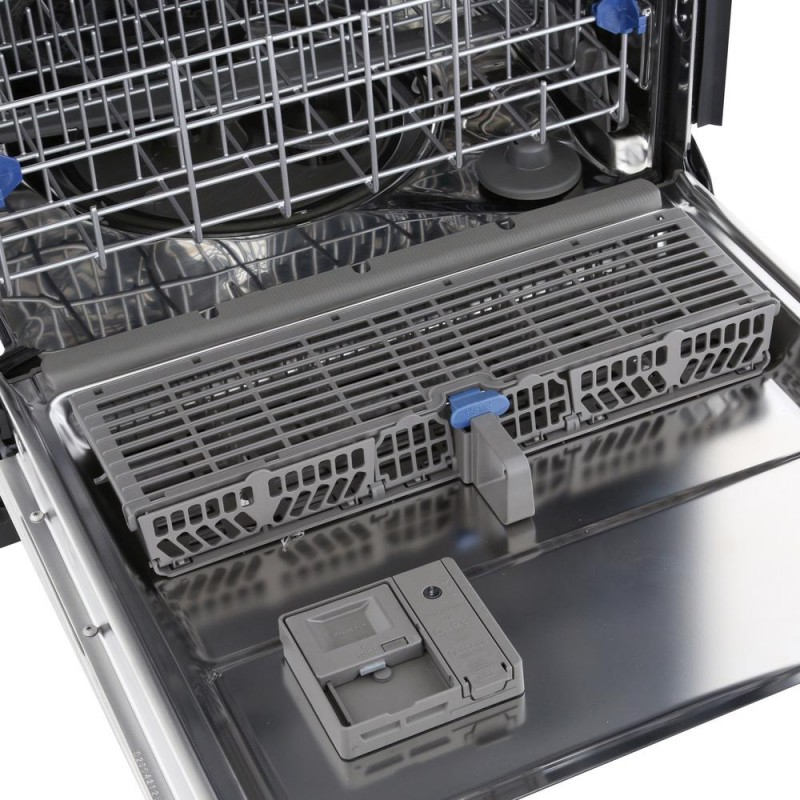 interior of the Wdt780Saem dishwasher